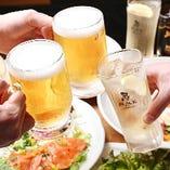 お客様のニーズに合った様々なお酒を多数ご用意しております!