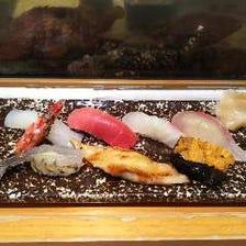 当店自慢の握り寿司