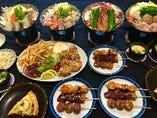 宴会コース!飲み放題は3500円(税抜き)より承ります。