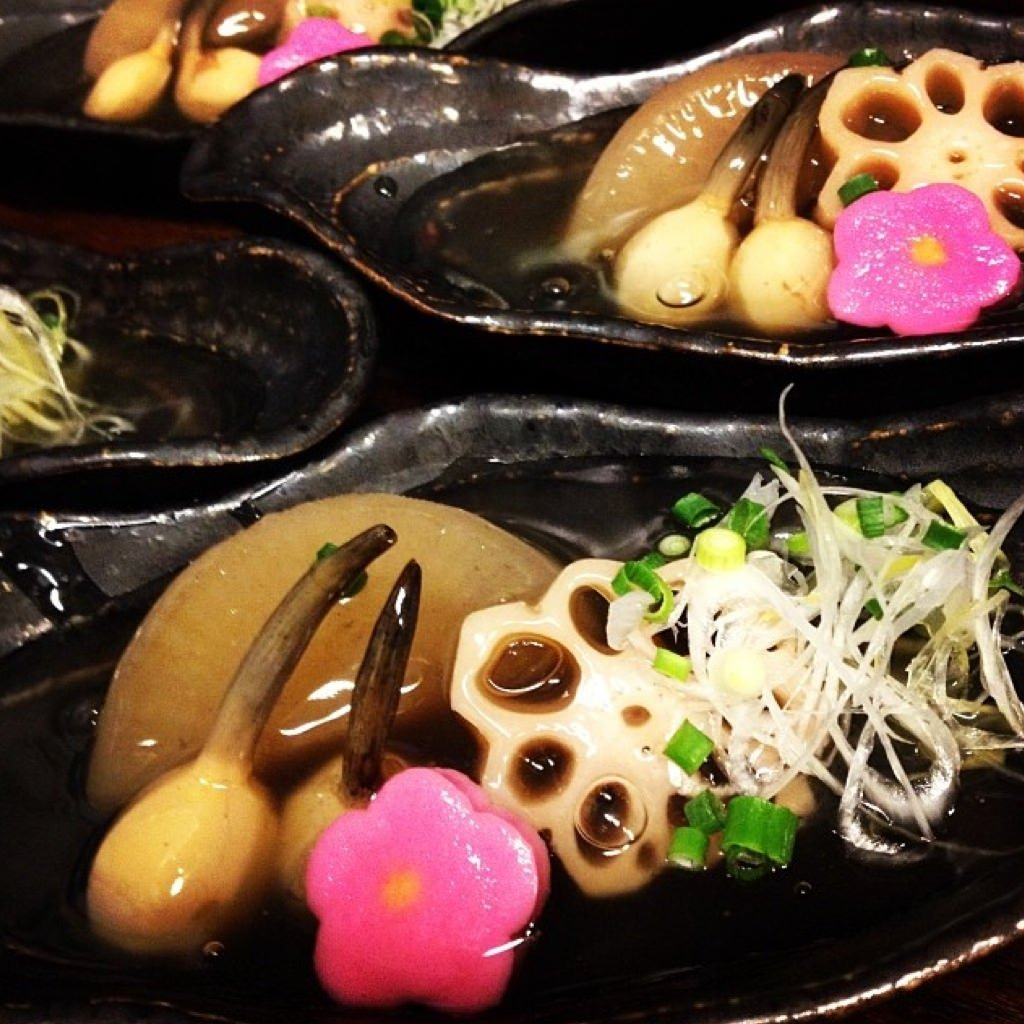加賀野菜料理