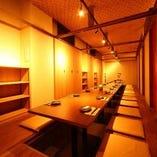 全席掘り炬燵式完全個室