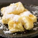 ミルクの天ぷら デザートにどうぞ!