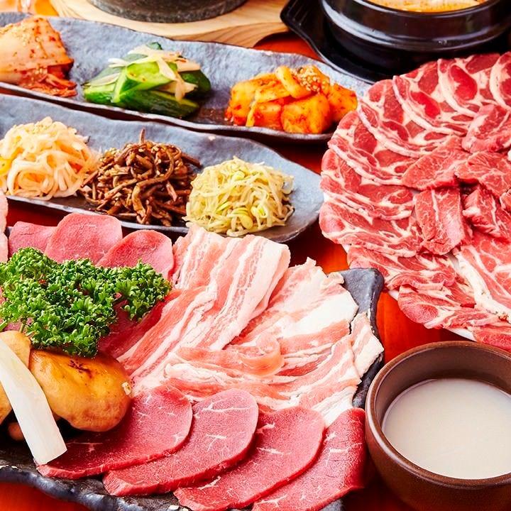 国産牛食べ放題の焼肉屋 牛楽 蒲田店