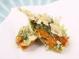 釧路ならではの新鮮な魚介や野菜を使った、極上の天ぷらをどうぞ