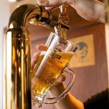 超達人認定の樽生ビール