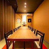 【完全個室】 専用スピーカーやプロジェクターも利用可能です。