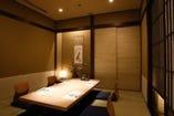 個室(掘りごたつ式)9部屋