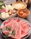単品すき焼き(お肉・お野菜2名様盛)