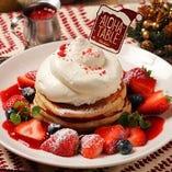 【12月限定】いちごのスノーマウンテン・パンケーキ