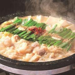 秘伝味噌~癒~ こくまろスープ石もつ鍋(2人前~)