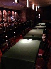 大人数の宴会可能なテーブル席