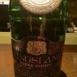 キングズランド 丸瓶 特級(およそ40年前のウイスキーです)