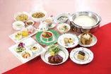 梅花懐石 ~めいふぁかいせき~ 梅の花人気料理満載の彩り豊かな本格中華懐石