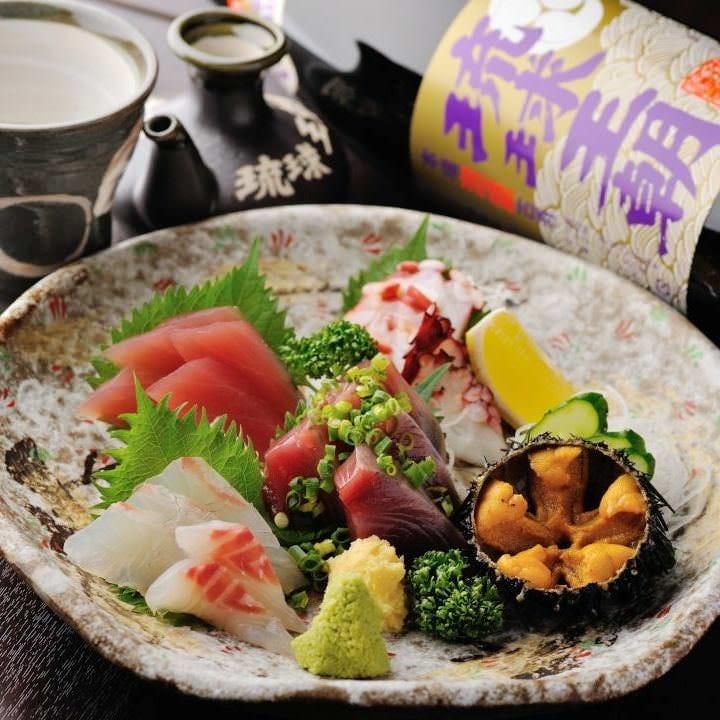 宮城の旬魚介も味わえます!