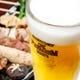 キンキンに冷えたビールと焼鳥 「ちょい飲みセット」でお得に!