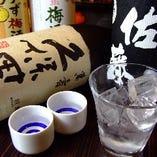 日本酒・焼酎にこだわってます!!