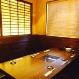 少人数様用の個室 完全個室は接待などにも最適です。お早めにお問い合わせください。