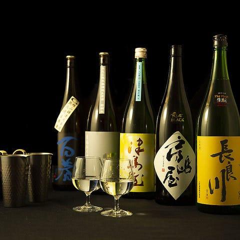 岐阜の地酒を豊富にご用意