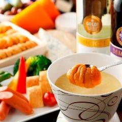【国産】生うにチーズフォンデュ