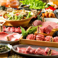 ◆A5松阪牛を堪能!一頭流コース7500円