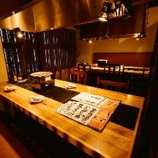 ◆最大12名様迄対応の個室あり