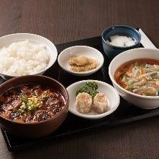 麻婆豆腐ランチ シュウマイ付