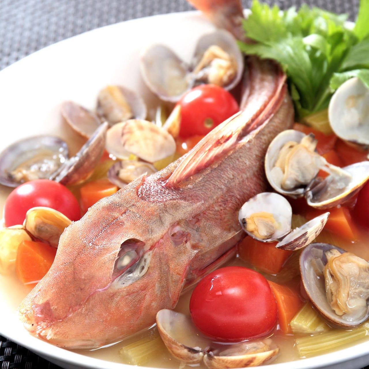 上質な【魚介料理】を堪能