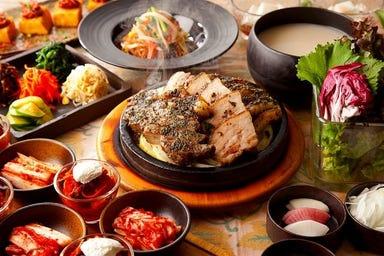 個室 × 韓国料理 銀座MUN  こだわりの画像