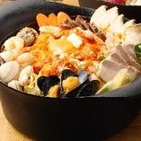海鮮スンドゥブ鍋