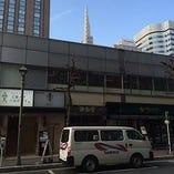 【お店の外観】ここの2階です!1階はプロントさんです。