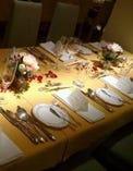 大切なお客様をお迎えする テーブルセッティング