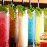 飲み放題メニューは充実の80種類以上!