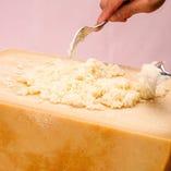 パルメザンチーズのリゾット