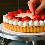 ケーキは全てspoonyパティシエが毎日手作りしています♪