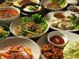 韓国料理も種類がたくさん!韓国居酒屋利用も大歓迎!!