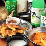 韓国輸入の飲み物も豊富♪人気のマッコリも種類豊富にあります