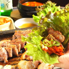 韓国料理とサムギョプサル サム家