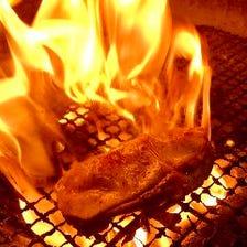 当店の炭火焼を是非ご堪能ください