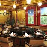 特別個室【南風 Nanpu】旧目黒雅叙園から移築復元された再現室