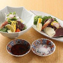 【高知 久礼】鰹たたき 伝統の藁焼たたき