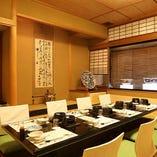 6~8名様×1室/3F特別室|お仕事での会食や大切な日にふさわしいもてなしの空間