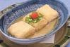 ・湯葉包みの揚げ出し豆腐
