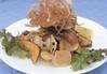 ・揚げ野菜のバリバリサラダ