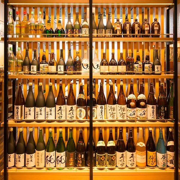 日本酒と蕎麦を愉しむ女子会が人気