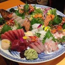 活魚、刺身、海鮮料理