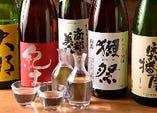 入荷する日本酒は、全国各地に出向いて本当に美味しいものを厳選