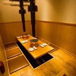 接待・会食におすすめの~6名様向け完全個室を完備