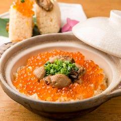 土鍋で炊いた選べる海鮮ごはん