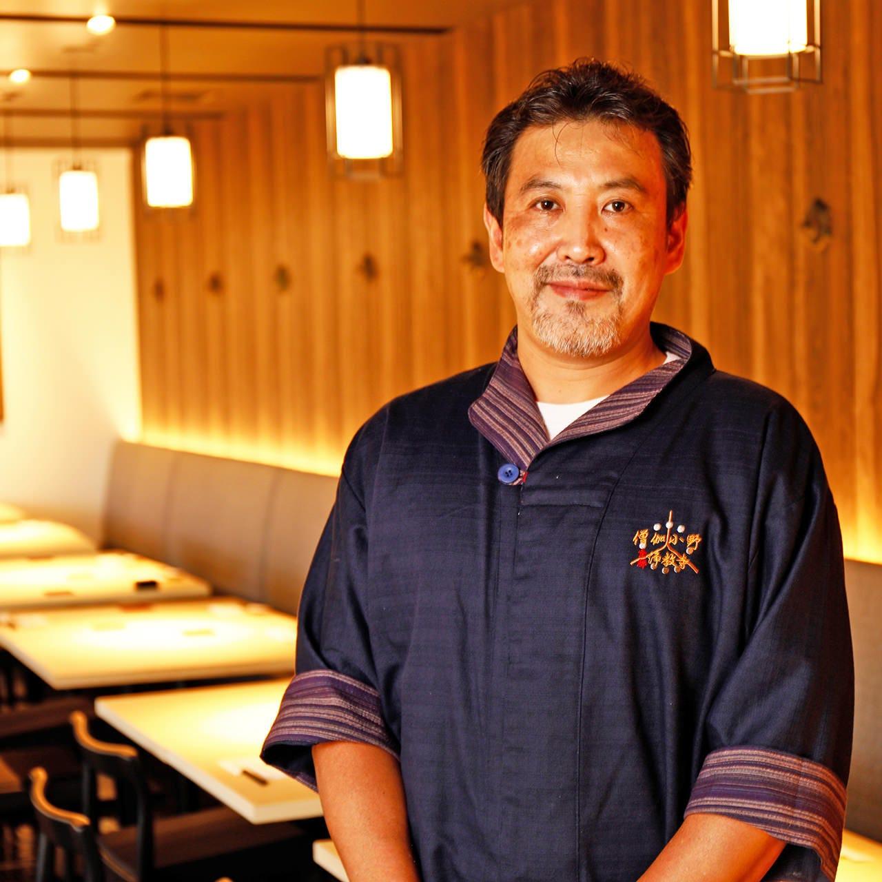 料理歴37年、老舗料亭の経験と実績