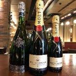 ③【シャンパンプレゼント】宴会コース40名様以上のご予約でスパークリングワインをプレゼント!